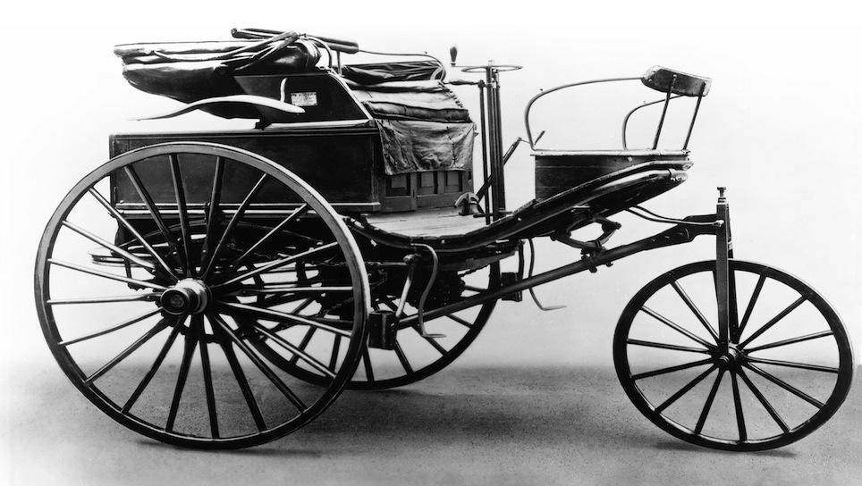 1888 Mercedes-Benz Patent Motorwagen Type III