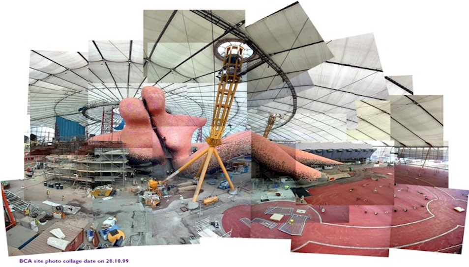 """Body Zone Millennium Dome 2000"""
