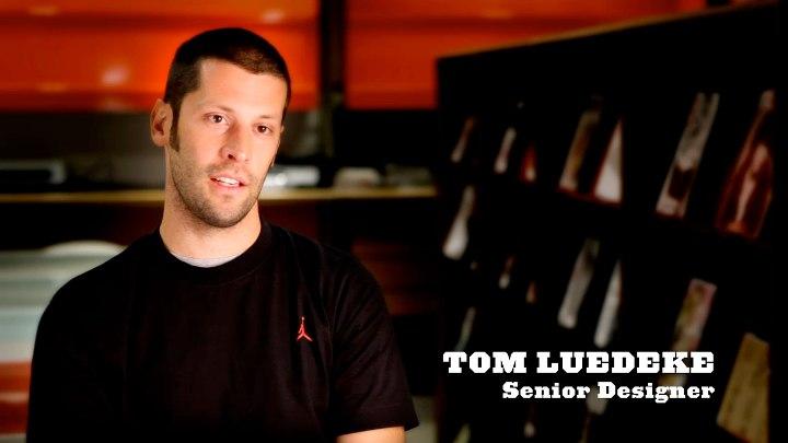 Jordan brand senior footwear designer Tom Luedecke