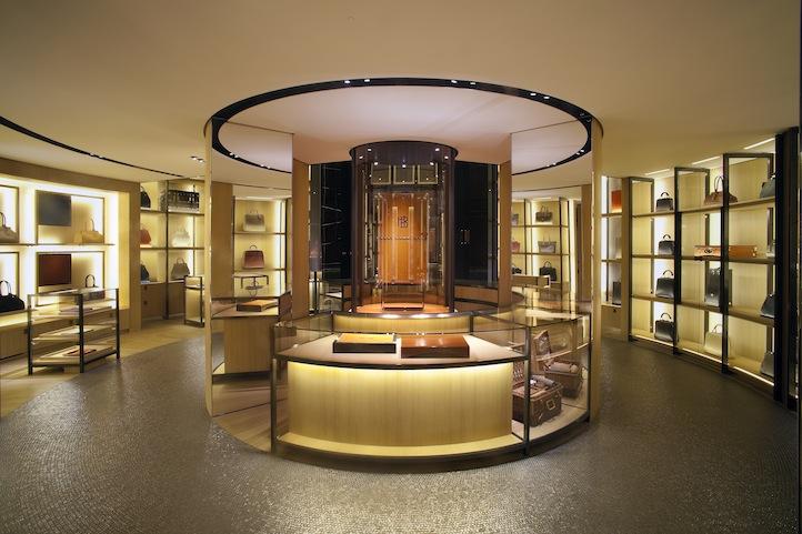 Inside parisian luxury boutique moynat life times for Luxury boutique
