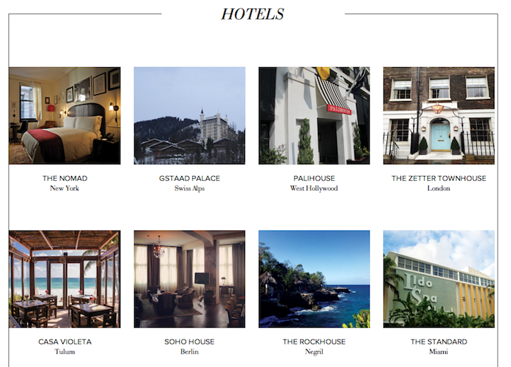 , Top Hotel Picks From AHotelLife, Life+Times