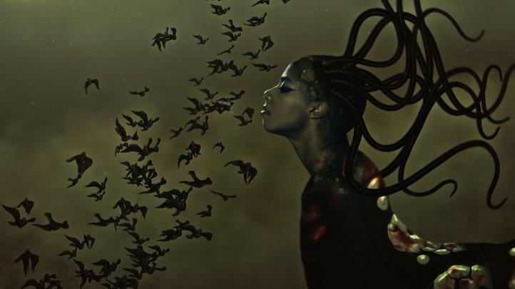 , Santigold Stars In Artist Wangechi Mutu's First Animated Video, Life+Times