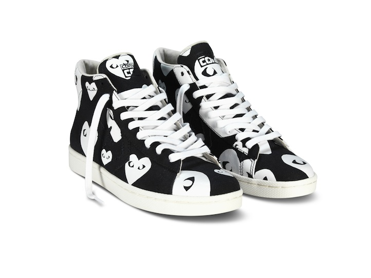 A Playful Collection Converse Reunites With COMME DES GARCONS