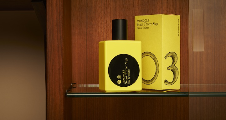 ", Monocle Launches Comme des Garçons Fragrance Scent Three: ""Sugi"", Life+Times"