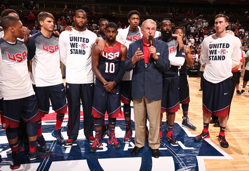 59c3c8085 USA Basketball Preps National Team For FIBA World Cup