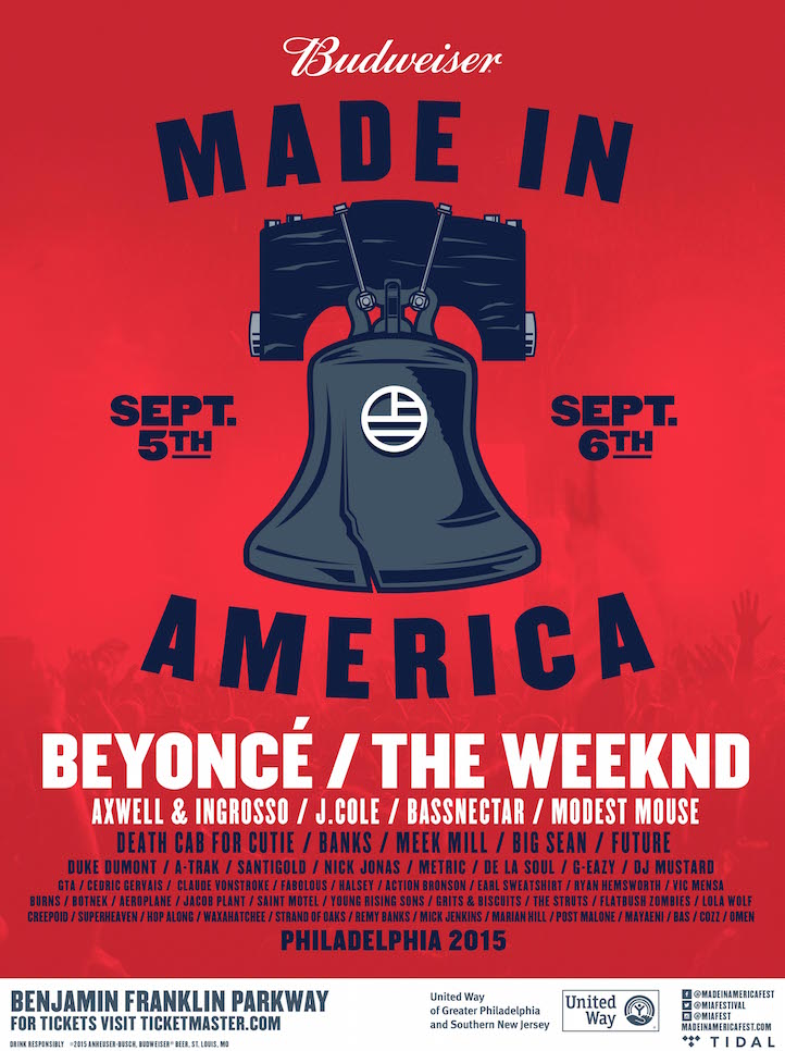 , 2015 Made In America Lineup, Life+Times